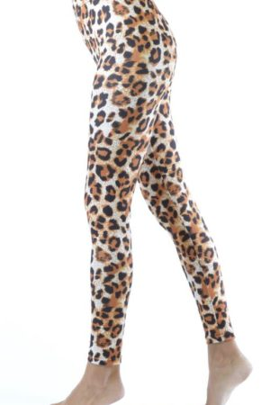 Ankle Length Cheetah Leggings