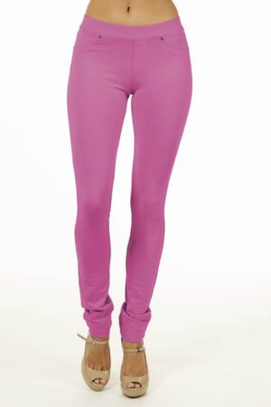 Pink Brazilian Moleton Jeggings