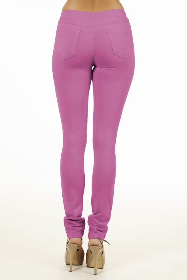 Pink Brazilian Moleton Jeggings