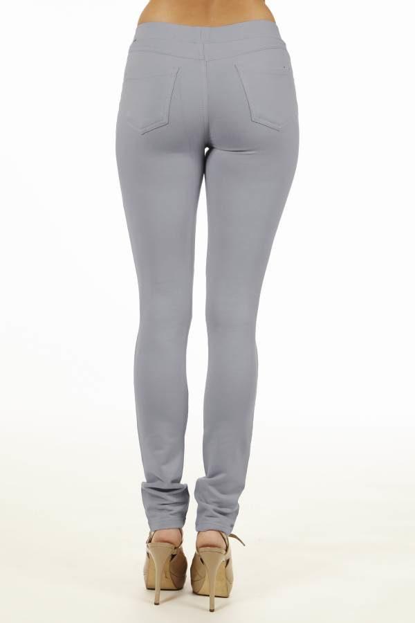 Grey Brazilian Moleton Jeggings