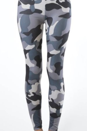 Activewear Camo Print Leggings