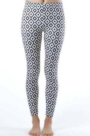 Ankle Length Hypnotic Diamond Leggings