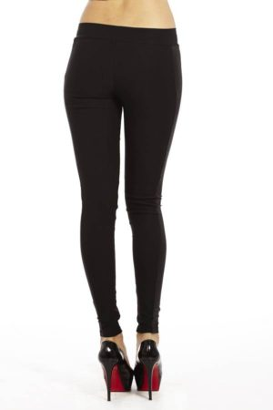 Leather Side Panel Leggings
