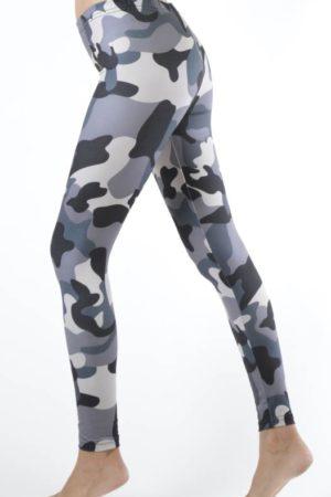 Plus Size Activewear Camo Print Leggings