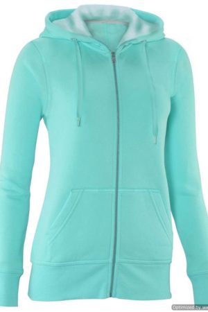 Sky Blue Full-Zip Hoodie Sweater