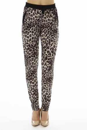 Leopard Print Soft Pants