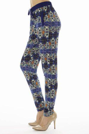 Geometric Print Soft Pants