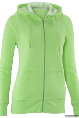 Apple Green Full-Zip Hoodie Sweater