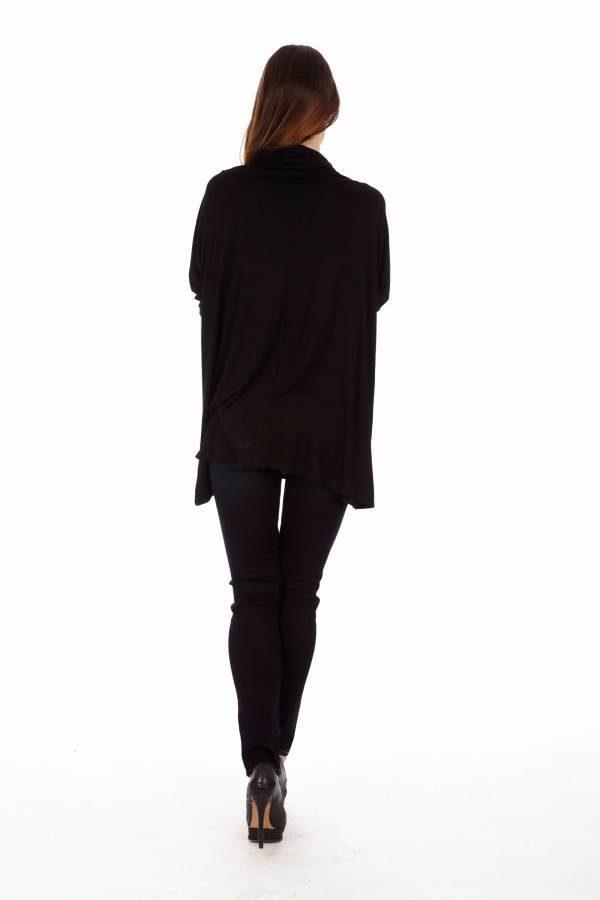 Black Long Sleeve Tunic