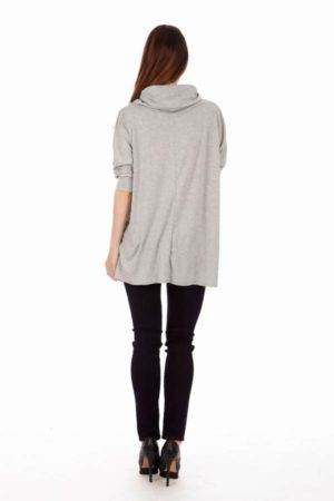 Light Grey Long Sleeve Tunic