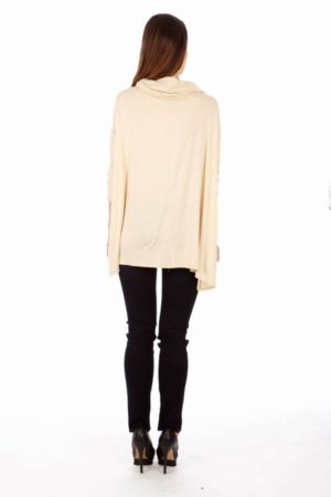 Cream Long Sleeve Tunic