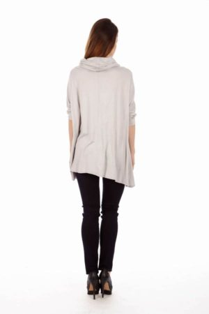 Silver Long Sleeve Tunic