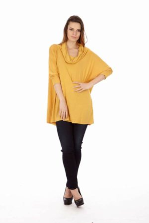 Yellow Long Sleeve Tunic