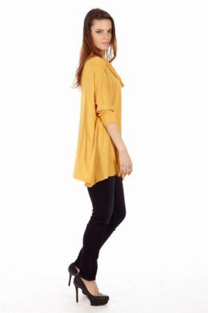 Yellow Long Sleeve Tunic