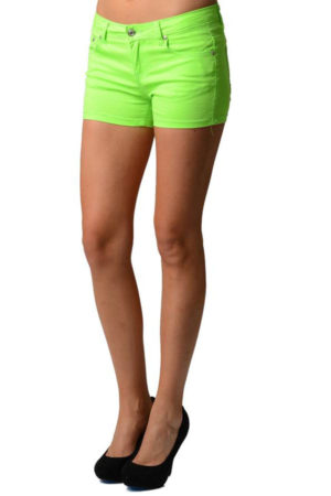 Green Neon Shorts