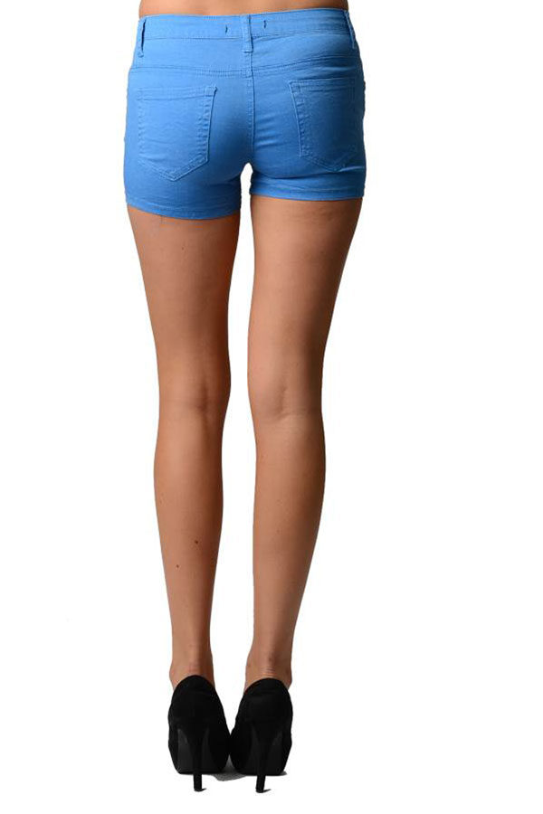Blue Neon Shorts