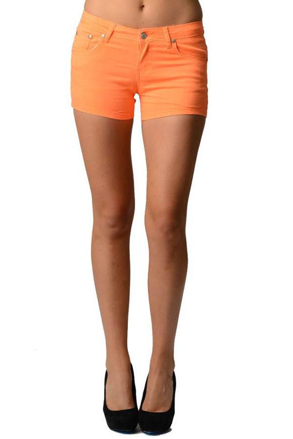 Orange Neon Shorts