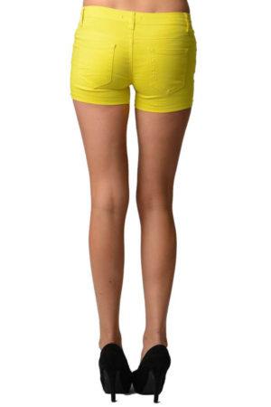 Yellow Neon Shorts