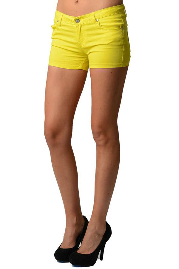 Yellow Neon Shorts