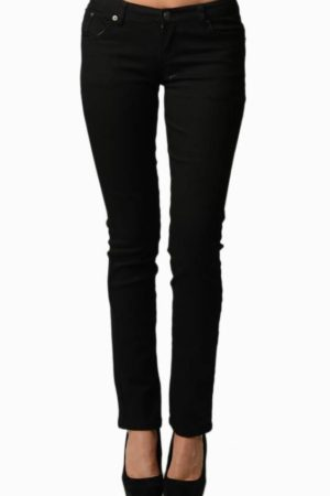 Black Colored Denim - Skinny Jeans