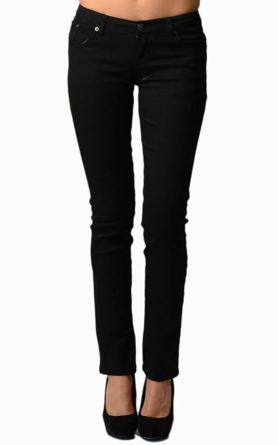 Black Colored Denim - Skinny Jeans