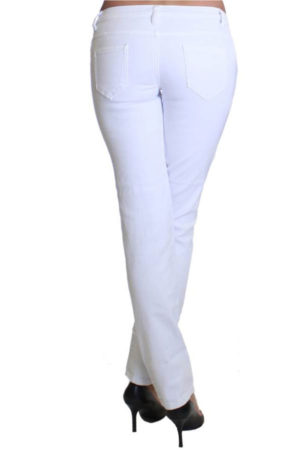 Snowfall Colored Denim Skinny Jeans