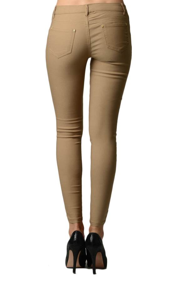 Nude Colored Tight Jeggings