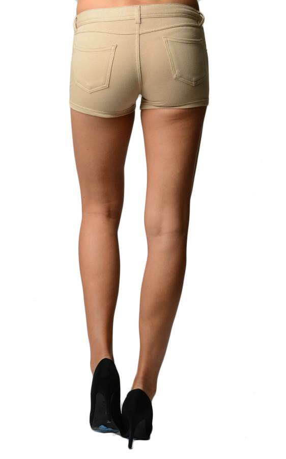 Stone Brazilian Moleton Shorts