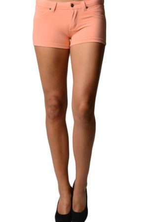 Orange Brazilian Moleton Shorts