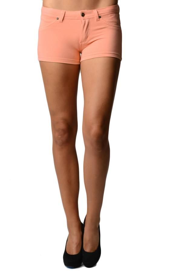 Orange Brazilian Moleton Shorts