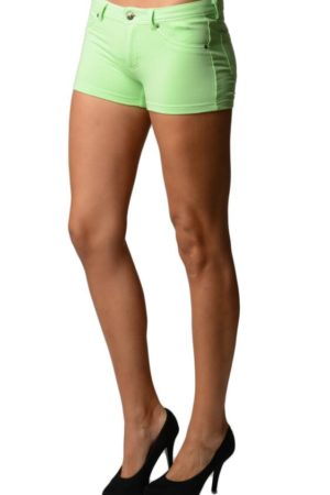 Green Brazilian Moleton Shorts