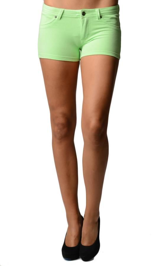 Green Brazilian Moleton Shorts