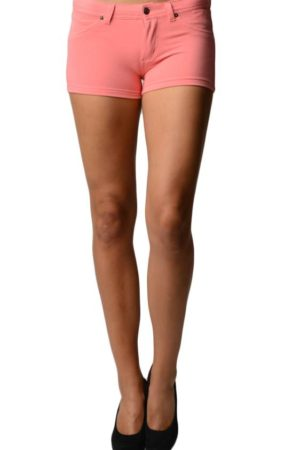 Pink Brazilian Moleton Shorts