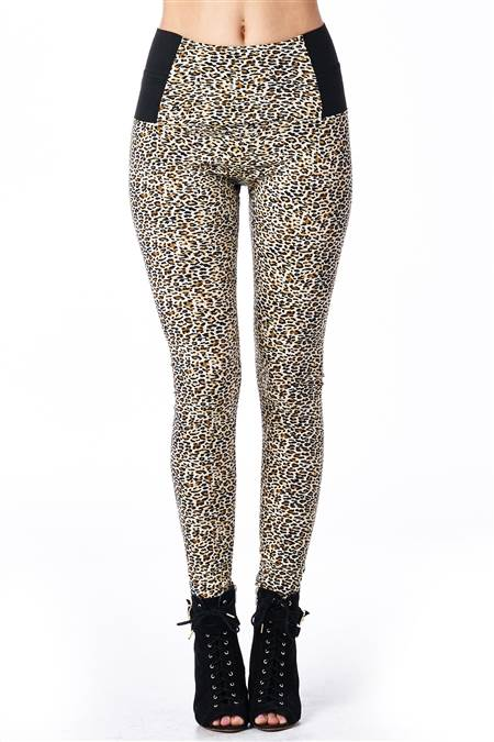 Feral Cheetah Print Jeggings