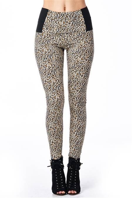 Feral Cheetah Print Jeggings