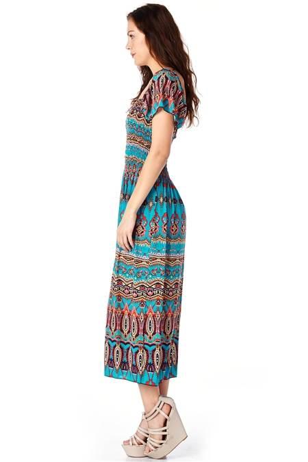 Bohemian Print Dress