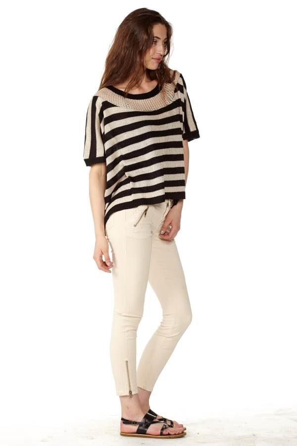 Sandy Knitted T-Shirt