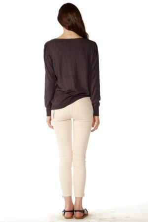 Women's Gray Knit Cardigan