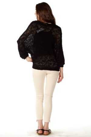Peach Batwing Pullover
