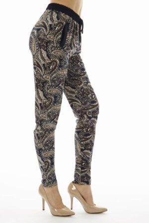 Paisley Print Jogger Pants