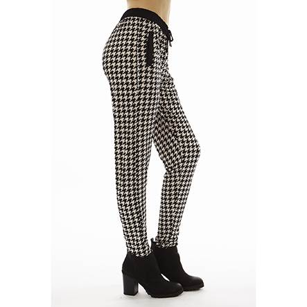 Checkered Jogger Pants