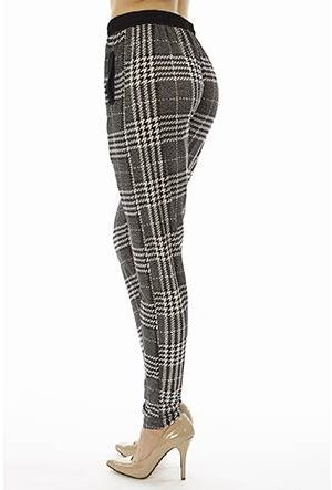 Plaid Jogger Pants