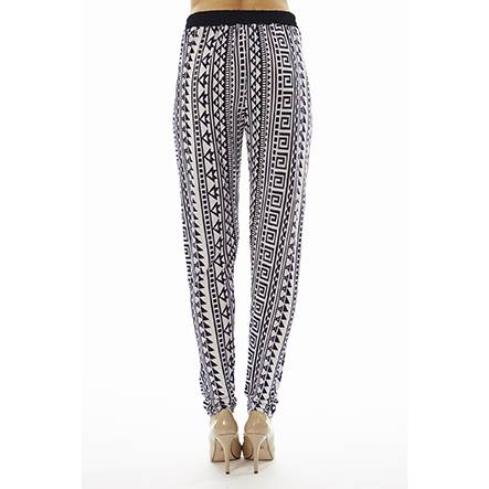 Geometric Tribal Print Joggers