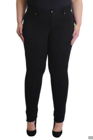 Plus-Size Black Slim Fit Pants Wholesale (Assorted Bundle 1X-2X-3X)