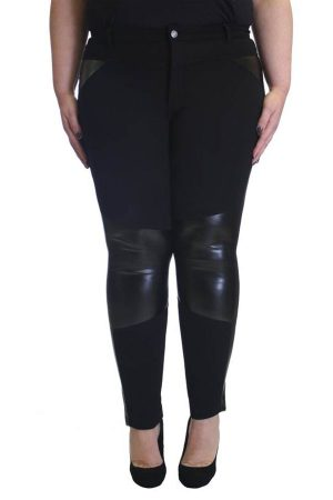 Plus-Size Black Trim Jeggings Wholesale (Assorted Bundle 1X-2X-3X)