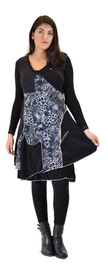 Casual Leopard Print Dress by Premise Paris