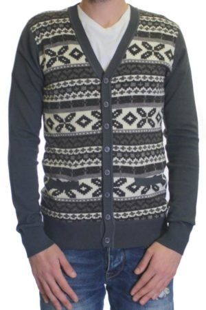 Men's Winter Solstice Beton Cardigan