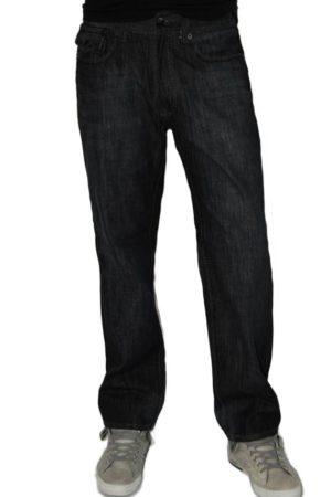 Tough Rebel Dark Wash Denim Jeans - Light Blue