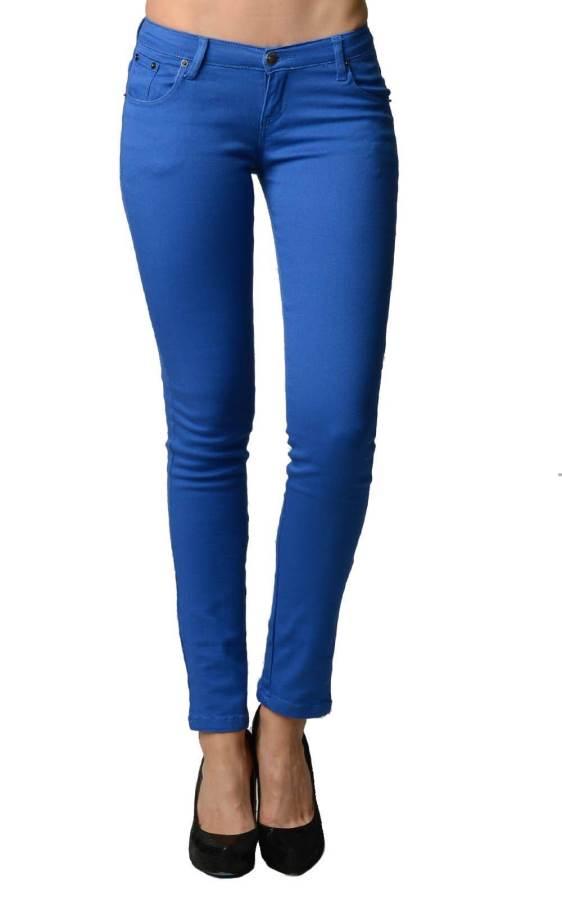 Royal Blue Jeans Skinny Cut