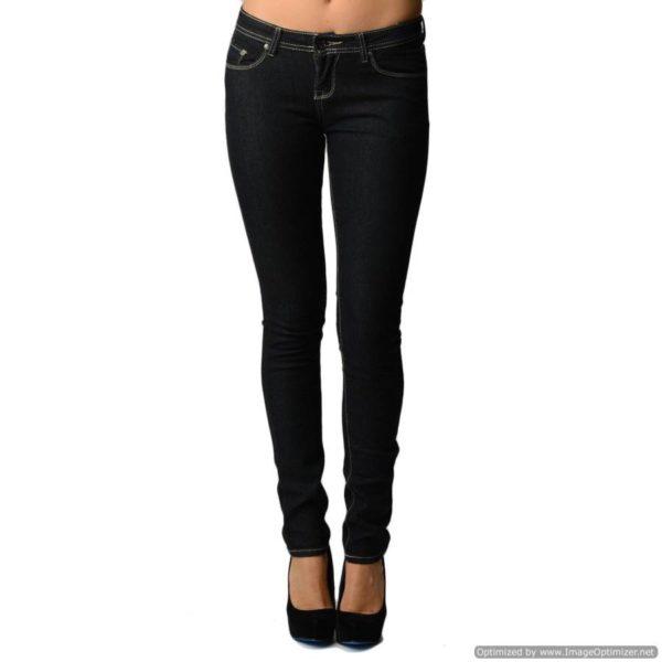 Skin Tight Jet Black Jeans